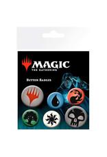 GB EYE Magic The Gathering Mana Symbols Badge set