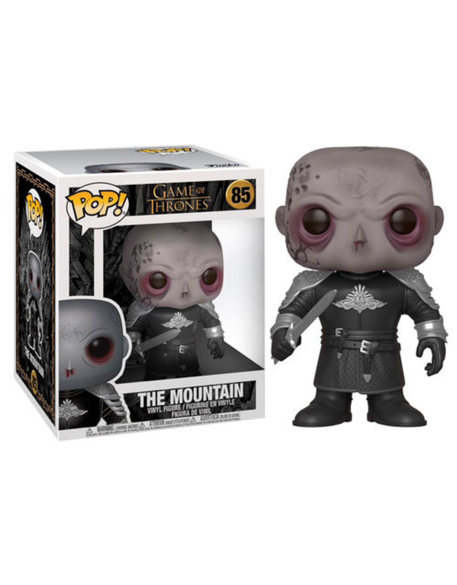 FUNKO! Game of Thrones - The Mountain Unmasked 15cm  #85