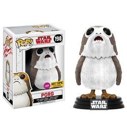 FUNKO! Star Wars - Porg Flocked Exclusive Chase