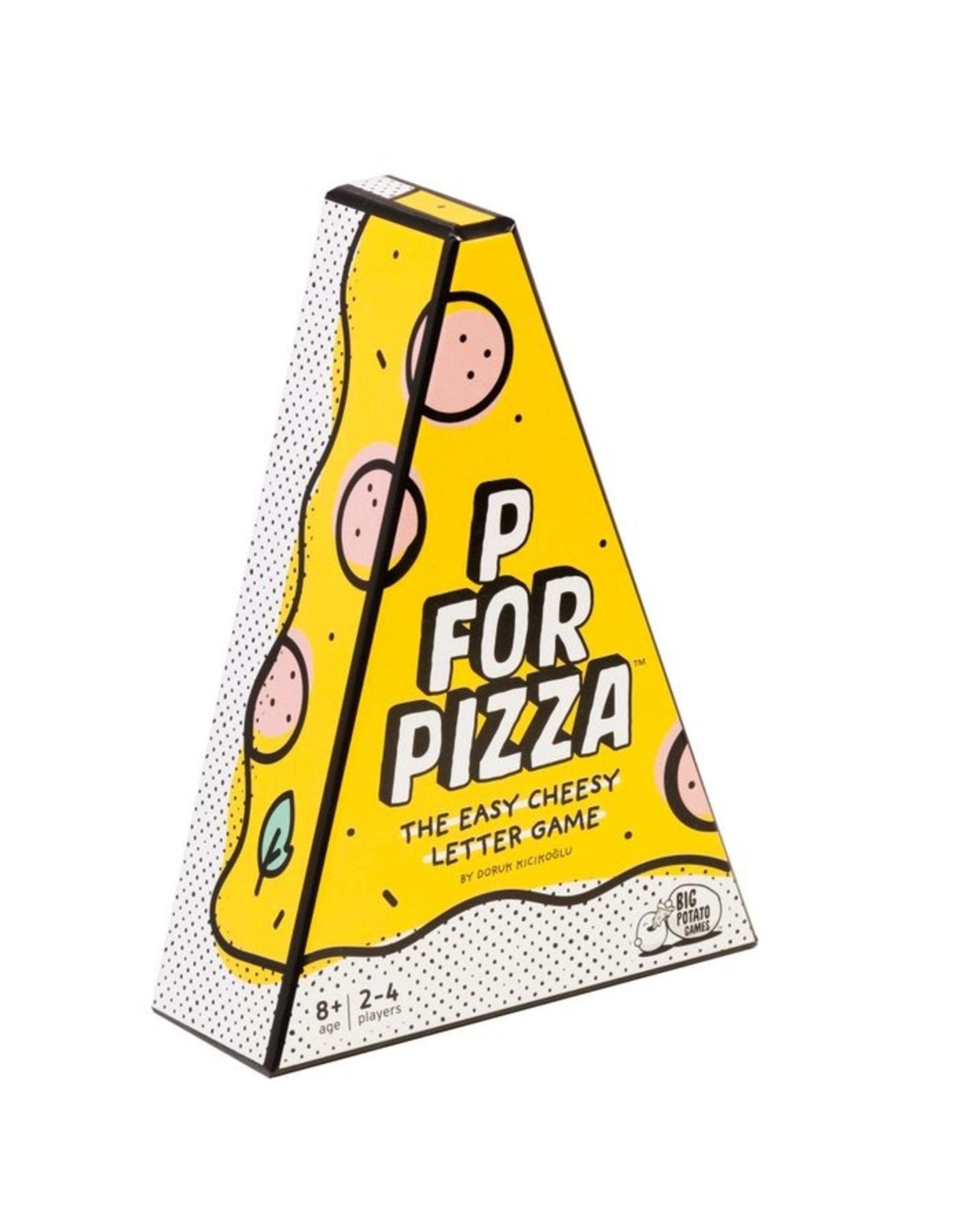 BIG POTATO GAMES P for Pizza