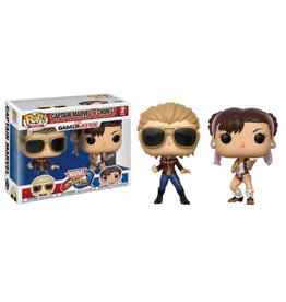 FUNKO! Games - Marvel vs. Capcom Infinite - 2-Pack Captain Marvel vs Chun-Li 'Exclusive'