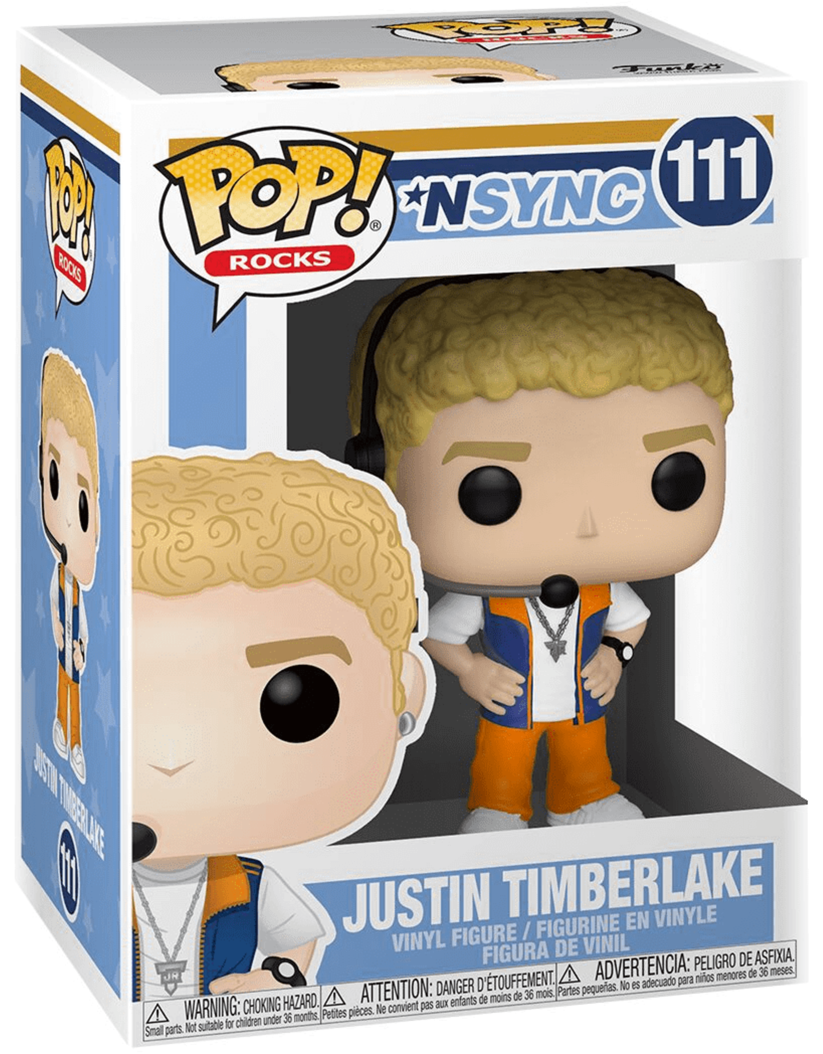 FUNKO! Rocks - NSYNC Justin Timberlake 9 cm #111