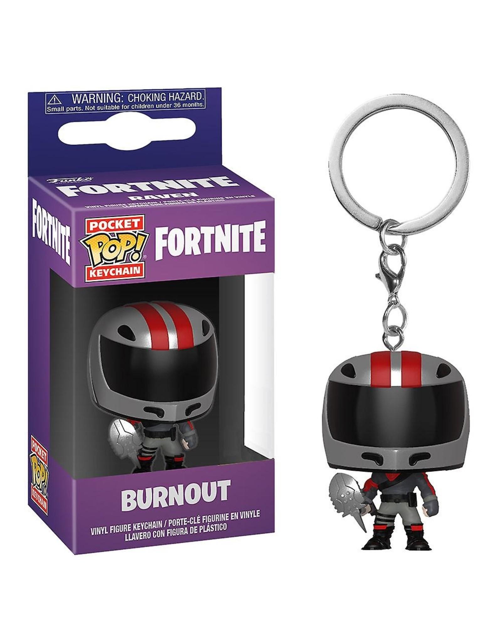 FUNKO! Fortnite - Pocket sleutelhanger Burnout 4 cm
