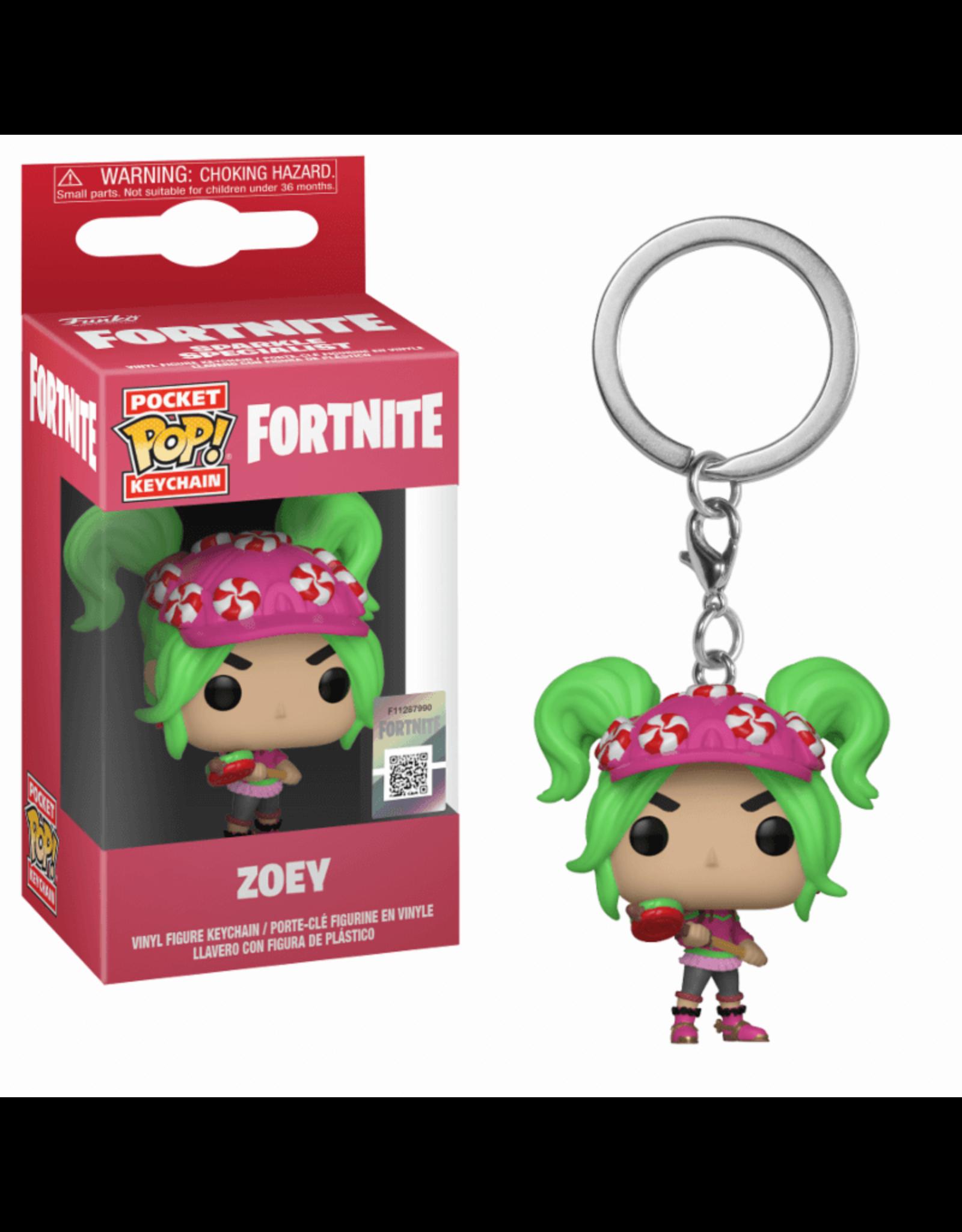 FUNKO! Fortnite - Pocket sleutelhanger Zoey 4 cm