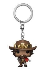 FUNKO! Overwatch - Pocket sleutelhanger McCree  4 cm