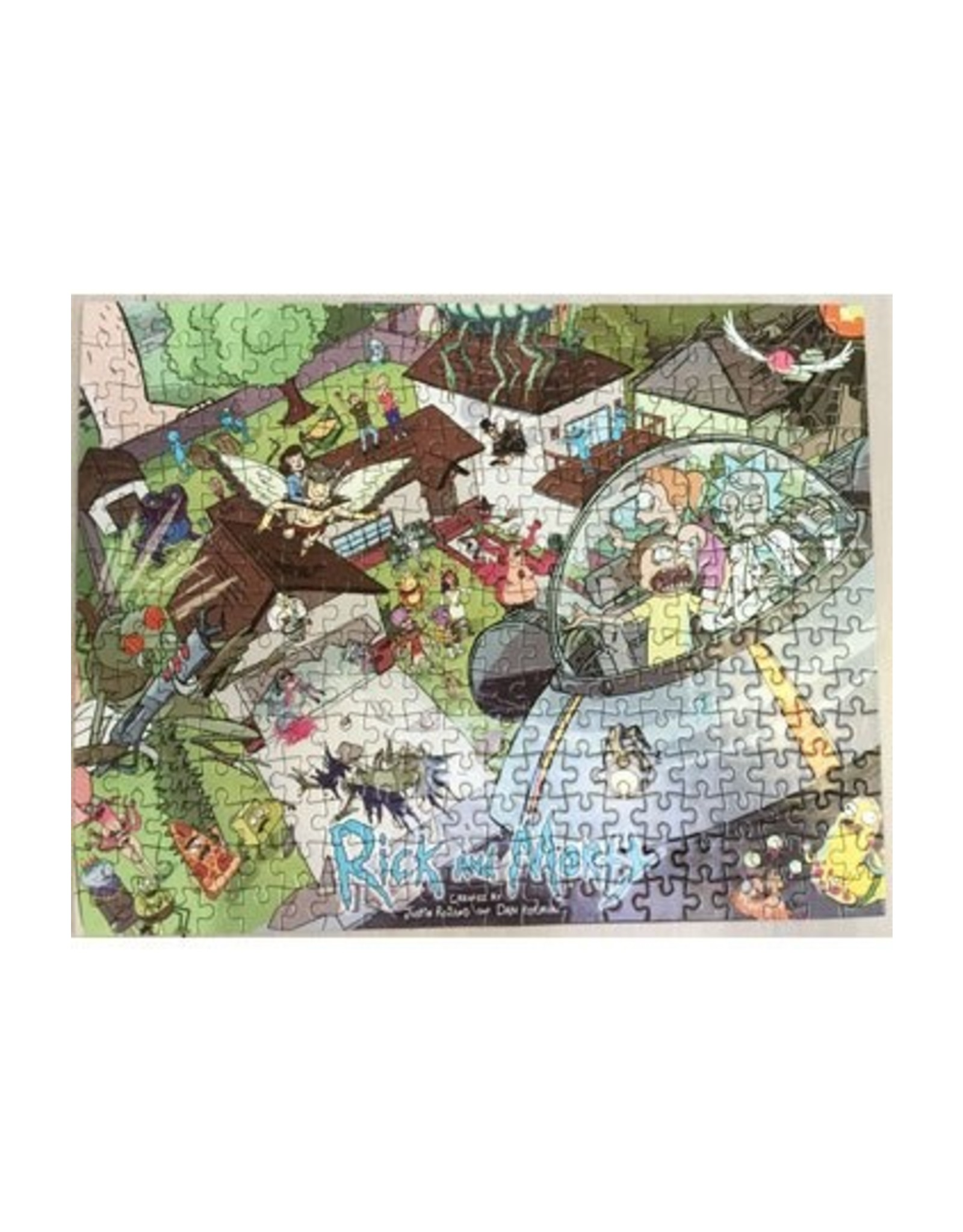 Rick and Morty Puzzel LC Exclusive - 300st
