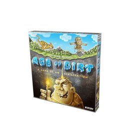 WIZKIDS Age of Dirt: A Game of Uncivilization Board Game *ENGELS