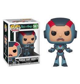 FUNKO! Animation - Rick & Morty Purge Suit Morty