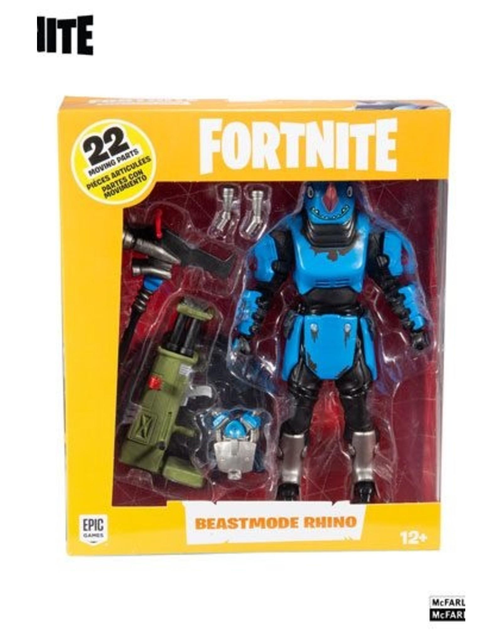 MCFARLANE TOYS Fortnite Action Figure Beastmode Rhino 18 cm
