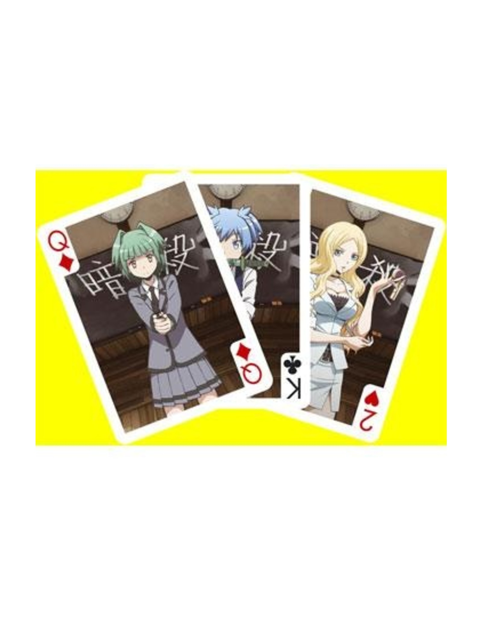 SAKAMI Assassination Classroom Playing Cards Characters