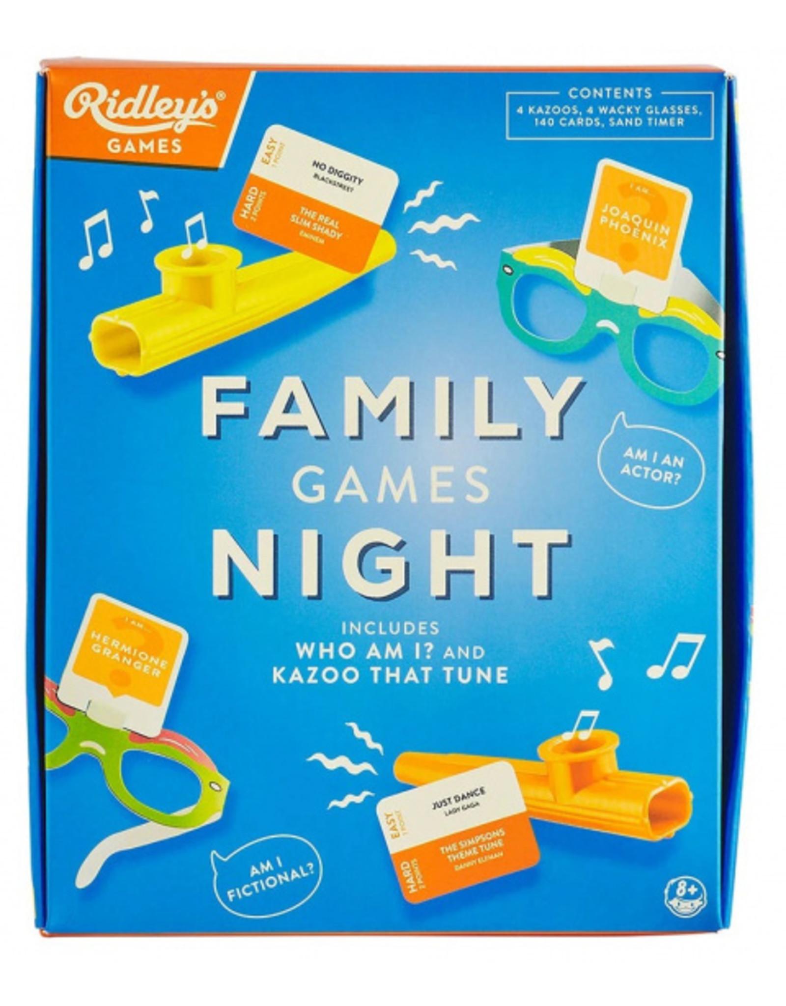 RIDLEY'S GAMES Kaartspel Family Games Night