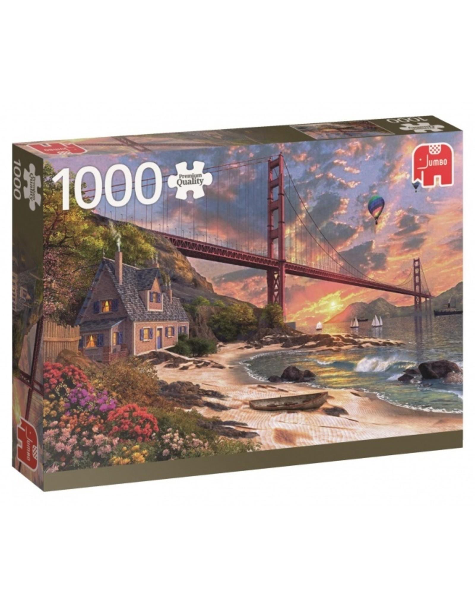 JUMBO Jumbo Puzzel Golden Gate Bridge 1000 stukjes