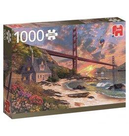 JUMBO Jumbo PC Golden Gate Bridge legpuzzel 1000 stukjes