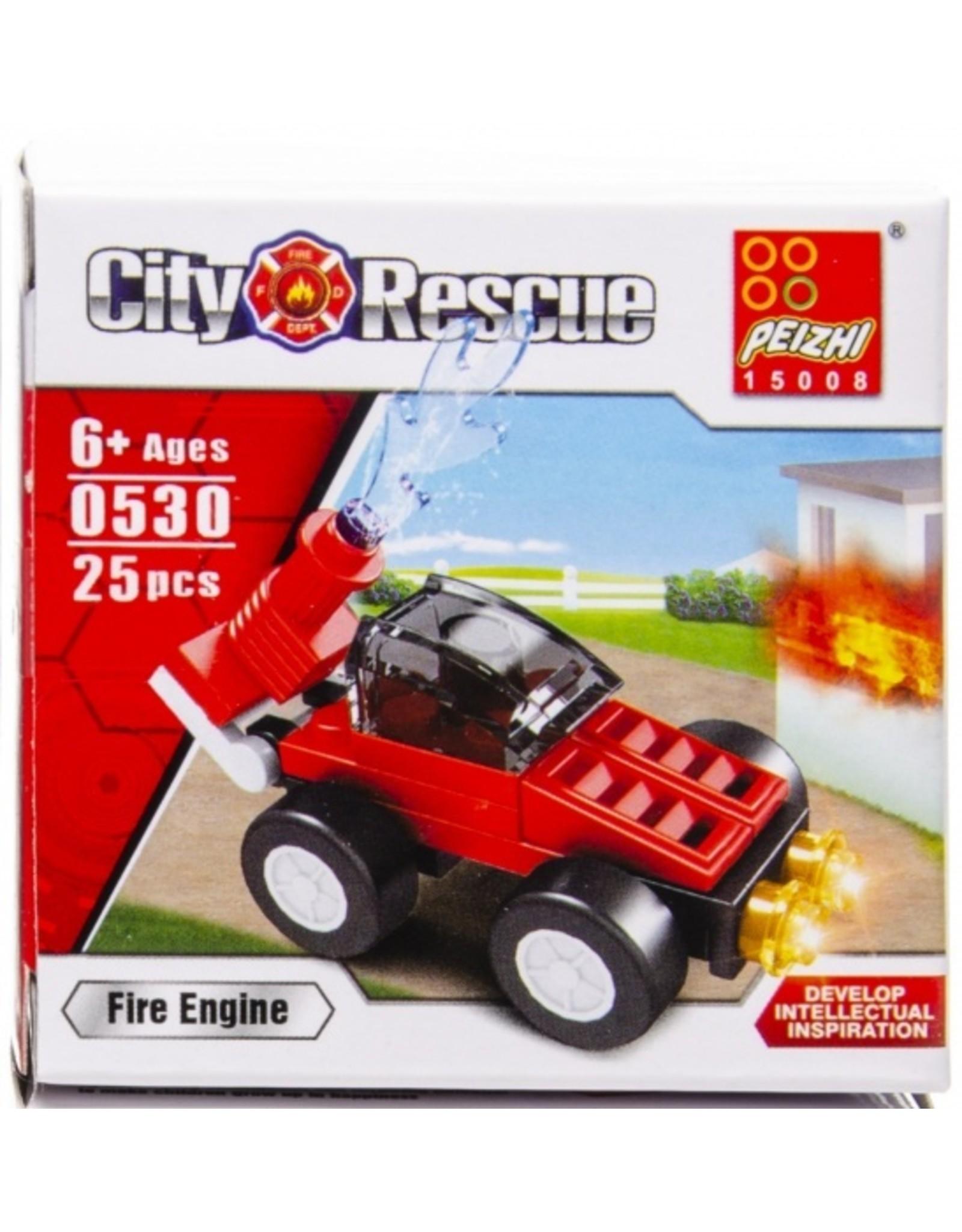 PEIZHI Brandweer bouwset brandweer