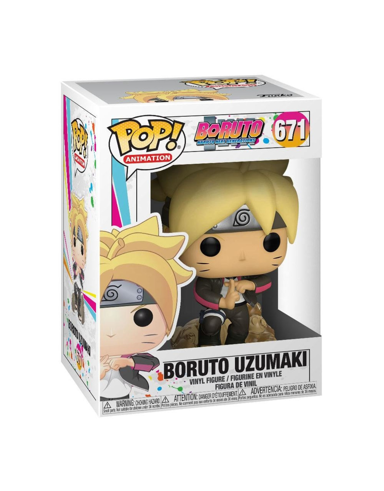 FUNKO! Animation - Boruto Naruto Next Generations Boruto Uzumaki #671
