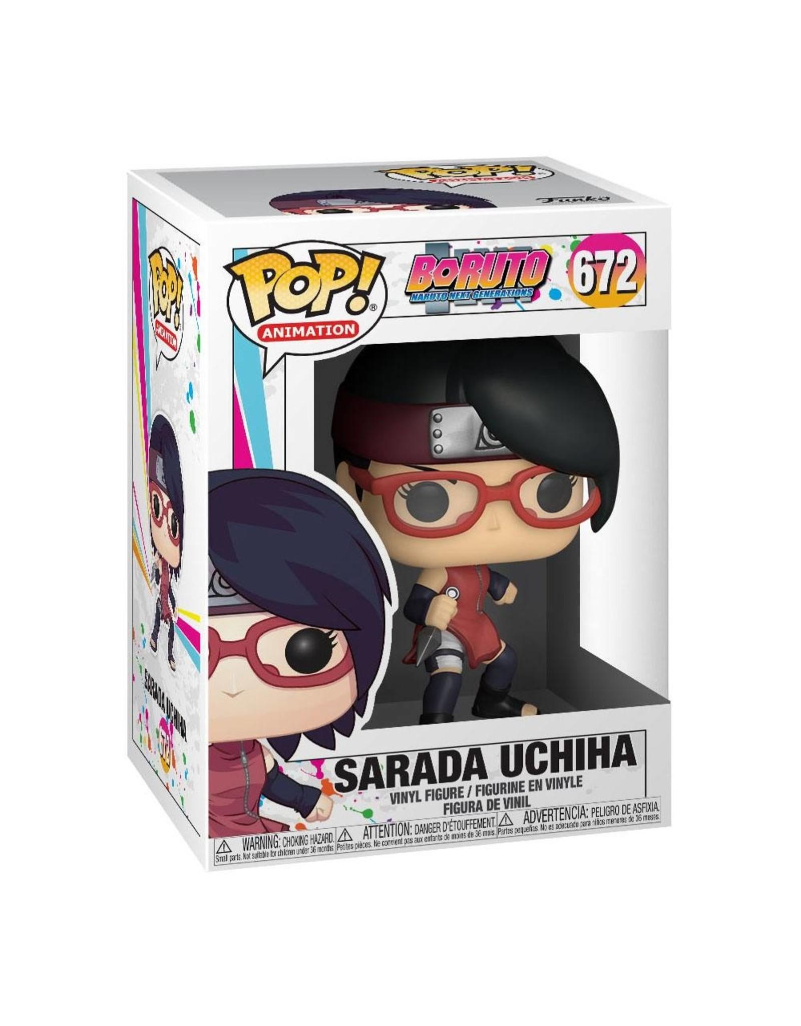 FUNKO! Animation - Boruto Naruto Next Generations Sarada Uchiha #672