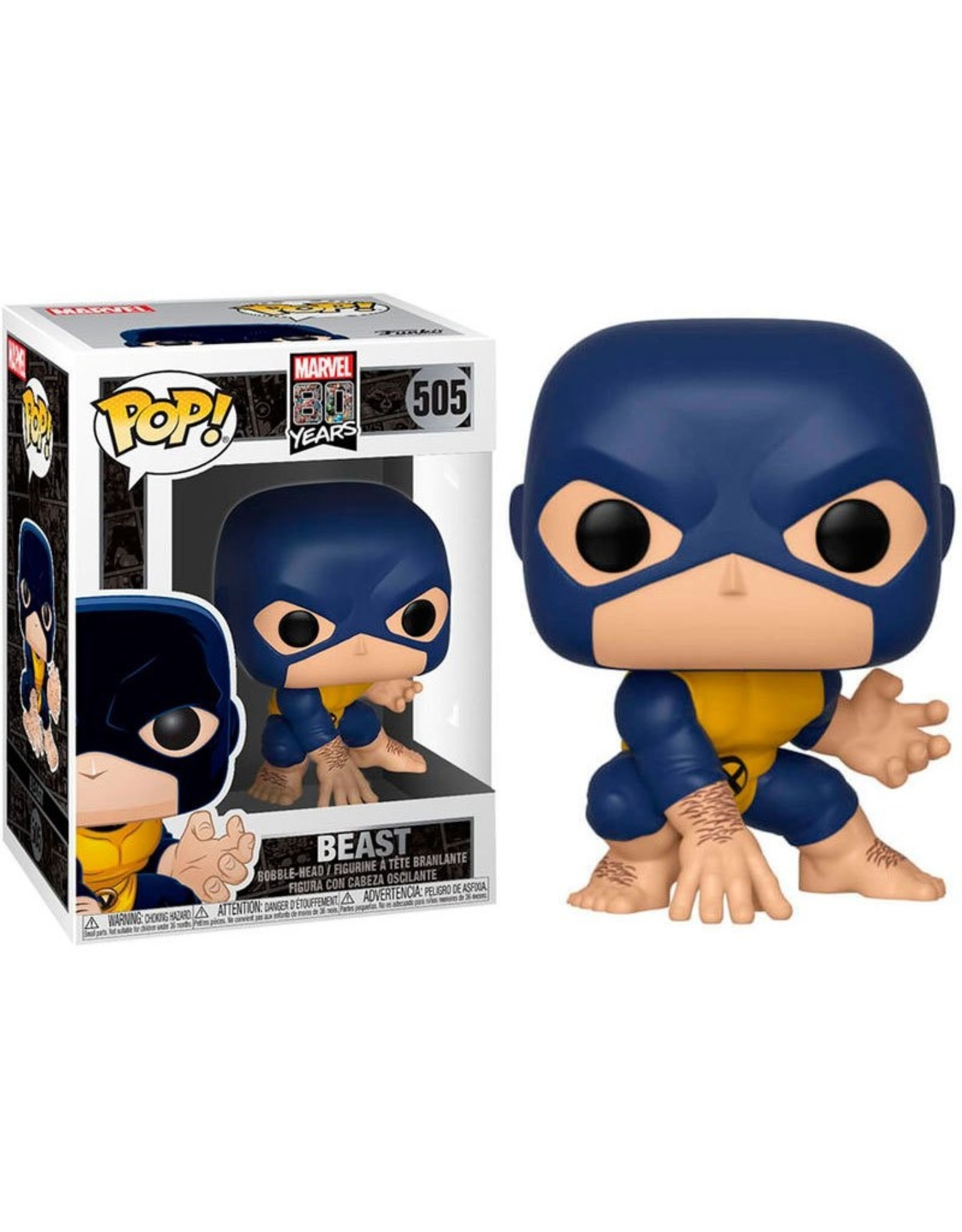 FUNKO! Marvel - 80th First Appearance Beast 9cm #505