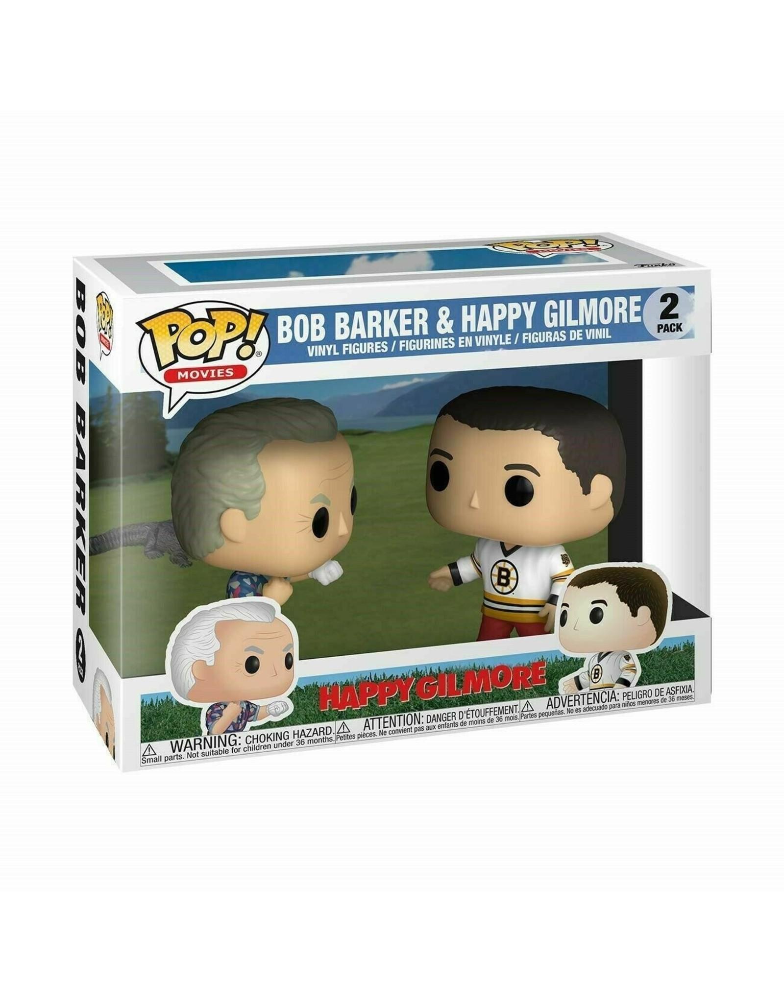 FUNKO! Movies - Happy Gilmore Bob Barker & Happy Gilmore 2 Pack