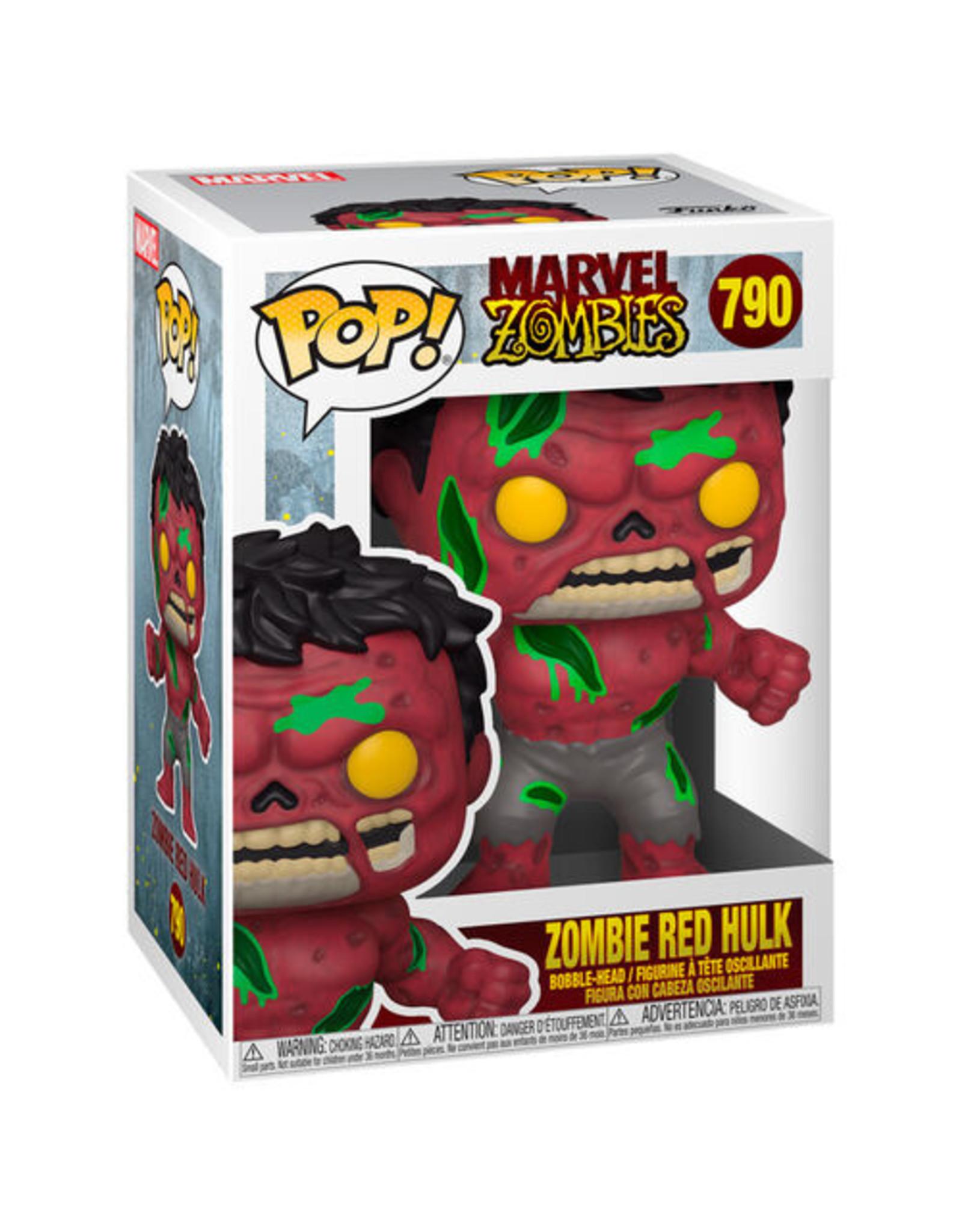 FUNKO! Marvel - Zombie Red Hulk 9cm #790