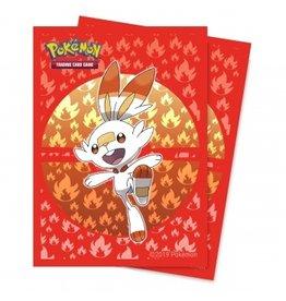 ULTRA PRO Card sleeves Pokemon - Sword & Shield Galar starters Scorbunny (65 sleeves)