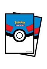 ULTRA PRO Card sleeves Pokemon - Great Ball (65 sleeves)