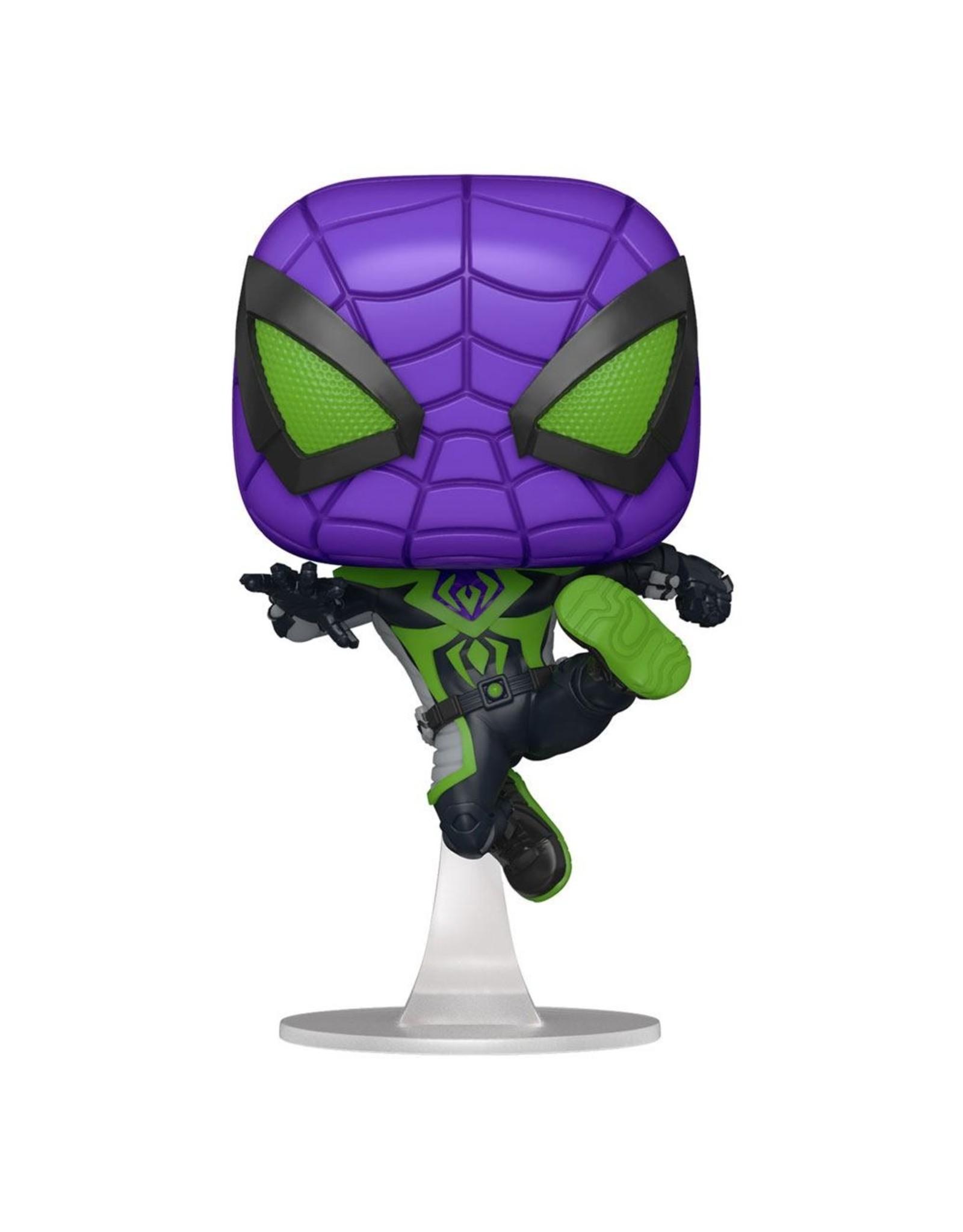 FUNKO! Marvel - Spider man Miles Morales Purple Suit 9cm