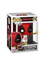 FUNKO! Marvel - Deadpool 30th Anniversary Backyard Griller Deadpool 9cm  #774