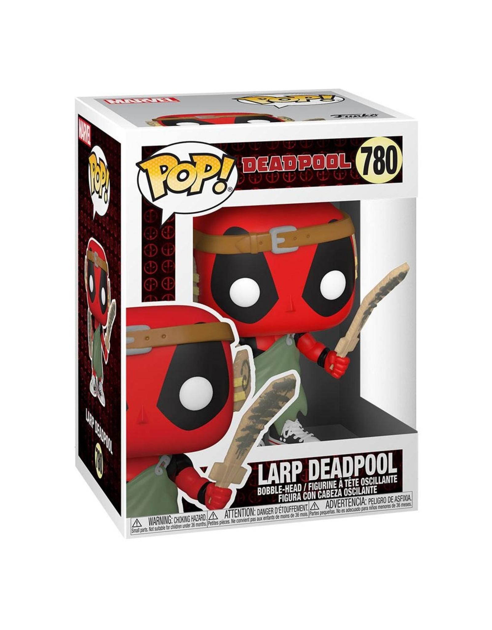 FUNKO! Marvel - Deadpool 30th Anniversary Nerd Deadpool 9cm #780