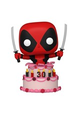 FUNKO! Marvel - Deadpool in cake 30th Anniversary #776