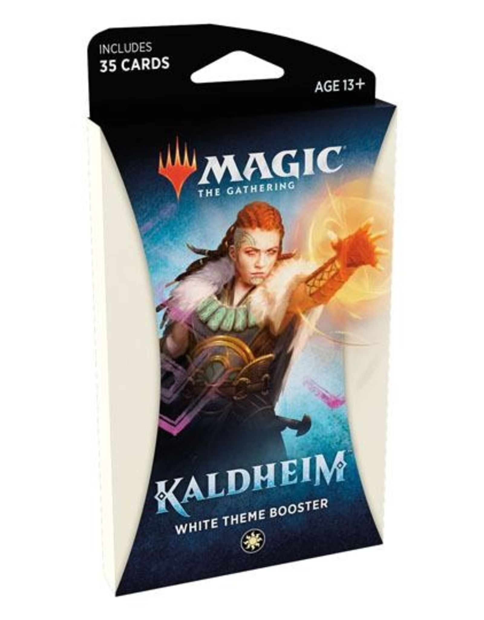 WIZARDS OF THE COAST Magic The Gathering - Kaldheim - White Theme Booster pack (1) - English
