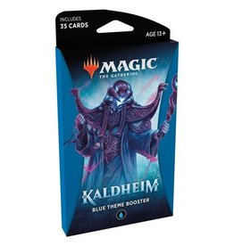 WIZARDS OF THE COAST Magic The Gathering - Kaldheim - Blue Theme Booster pack (1) - English