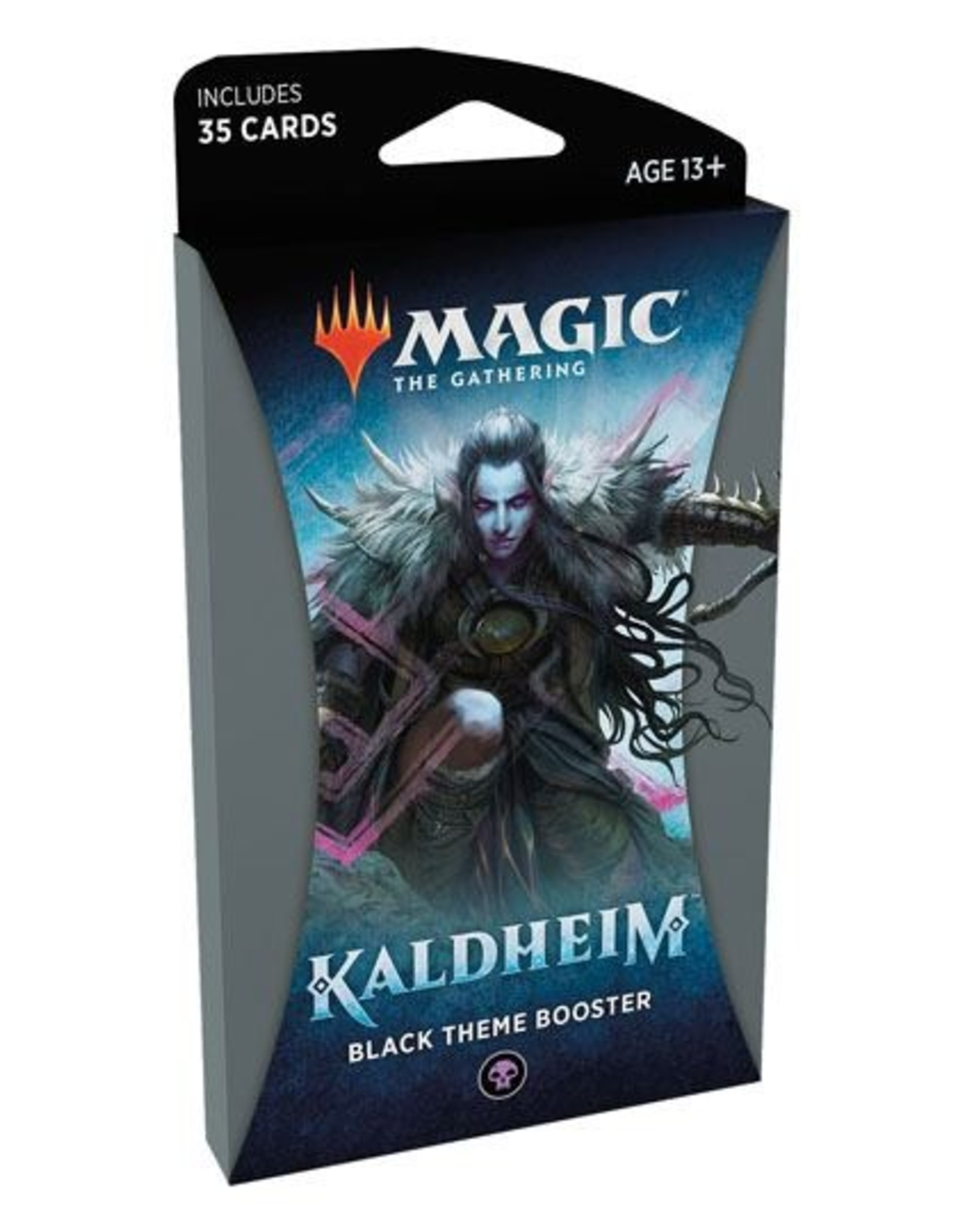 WIZARDS OF THE COAST Magic The Gathering - Kaldheim - Black Theme Booster pack (1) - English