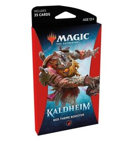 WIZARDS OF THE COAST Magic The Gathering - Kaldheim - Red Theme Booster pack (1) - English
