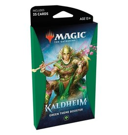 WIZARDS OF THE COAST Magic The Gathering - Kaldheim - Green Theme Booster pack (1) - English