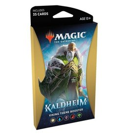 WIZARDS OF THE COAST Magic The Gathering - Kaldheim - Viking Theme Booster pack (1) - English