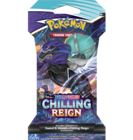 THE POKEMON COMPANY SWSH 6 Chilling Reign Sleeved Booster  Willekeurig item