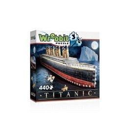WREBBIT Wrebbit 3D Puzzel Titanic (440 stuks)