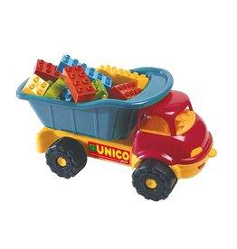 UNICO Unico vrachtwagen met blokken 35-delig blauw