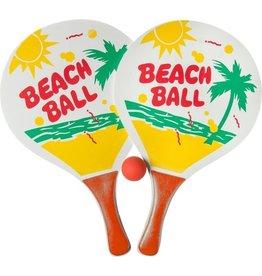 LG-IMPORTS Beachballset 3-delig 38 Cm Rood