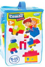 MOCHTOYS Bouwblokken Combi 2,9 x 1,9 cm junior 145-delig