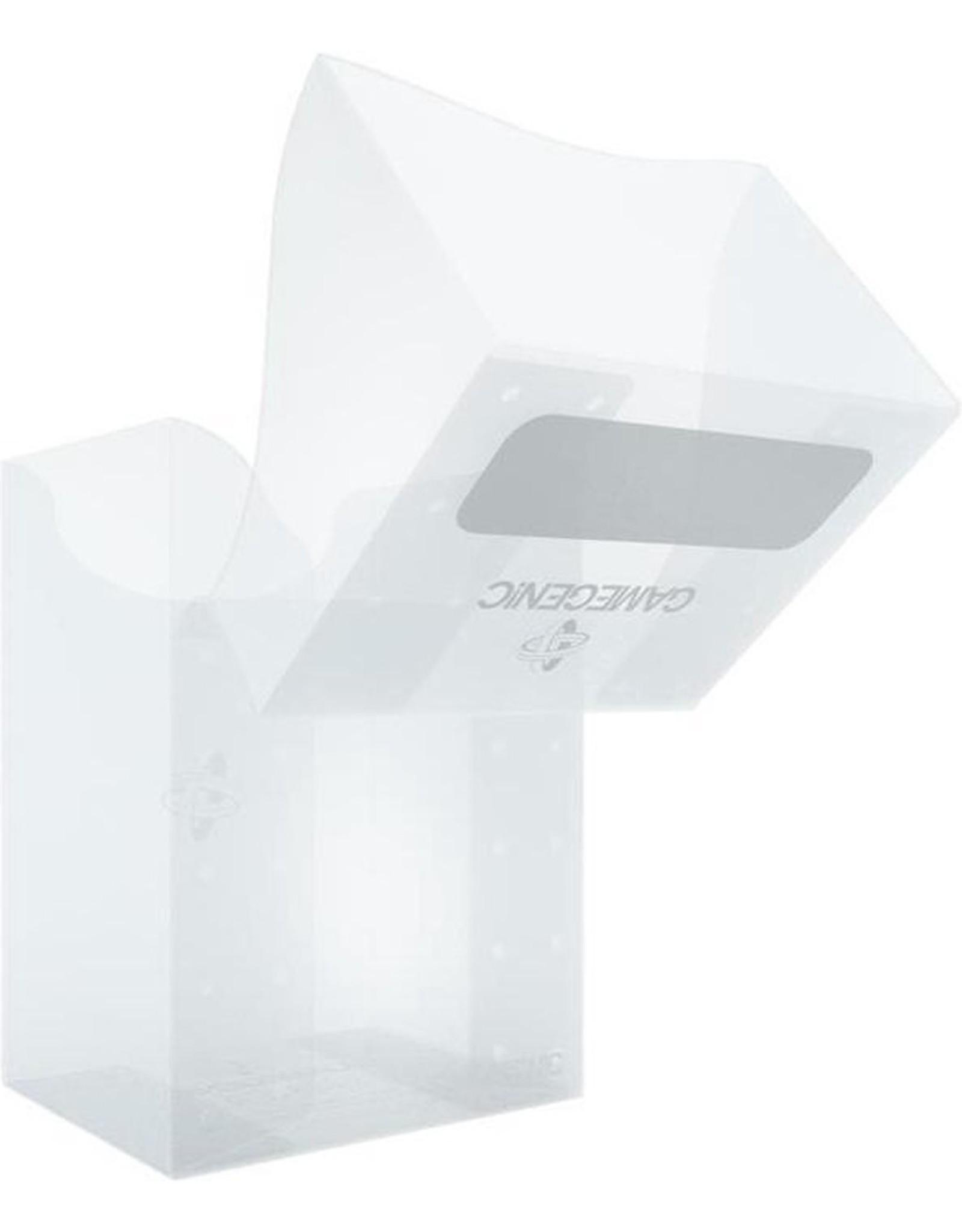 GAMEGENIC - Deck Holder 80+ Transparant