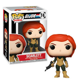 FUNKO! Retro Toys - G.I. Joe Scarlett
