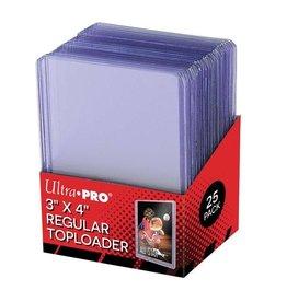 "ULTRA PRO Ultra pro - Toploader - 3"" x 4"" Clear Regular (25st)"