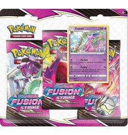 THE POKEMON COMPANY SWSH 8 Fusion Strike 3 Pack Blister