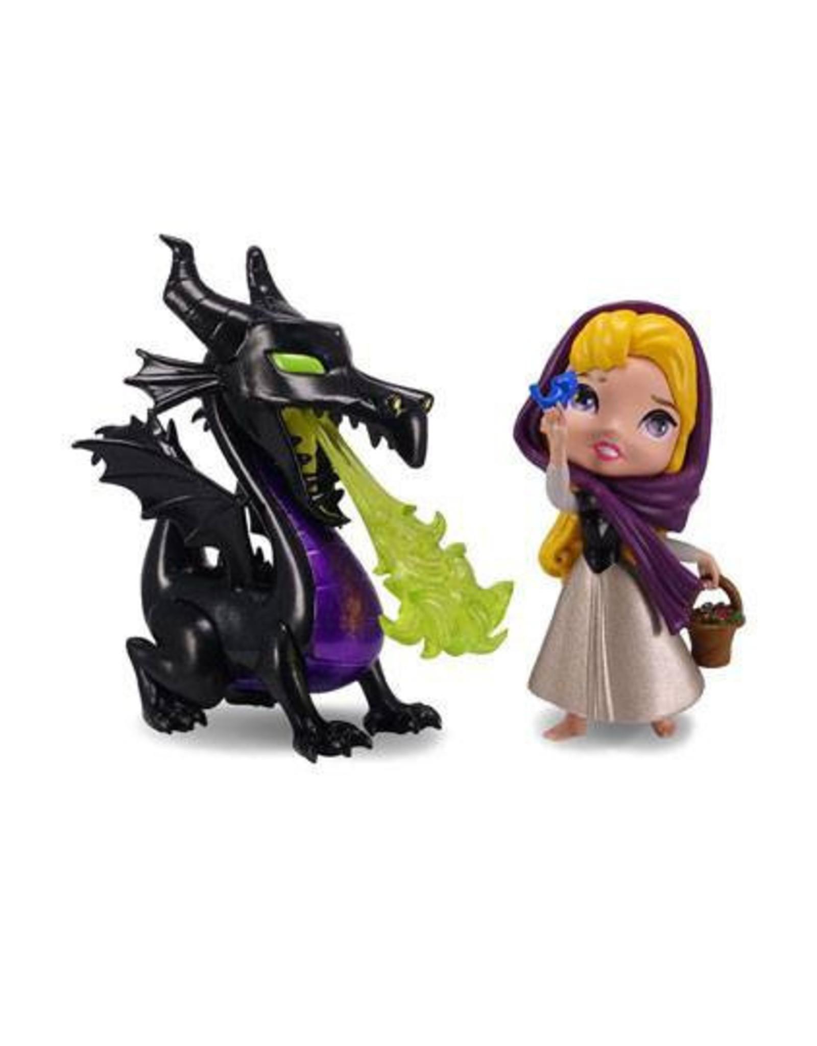 JADA Disney Metalfigs Diecast Mini Figures 2-Pack Maleficent & Briar Rose 10 cm