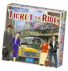 DAYS OF WONDER TICKET TO RIDE - NEW-YORK