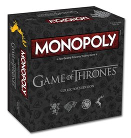 MONOPOLY GAME OF THRONES - COLLECTOR - ENGELS