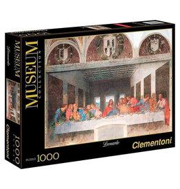 CLEMENTONI Museum Collection Leonardo The Last Supper puzzel 1000 st.