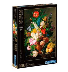 CLEMENTONI Louvre Museum Bowl of Flowers puzzel 1000 st.