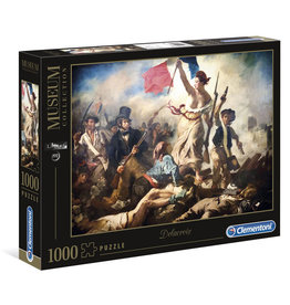 CLEMENTONI Louvre Museum Liberty Leading the People puzzel 1000 st.